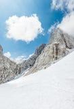 Passaggio di montagna Immagine Stock