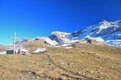 Passaggio di montagna Fotografia Stock