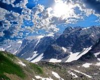 Passaggio di montagna fotografie stock