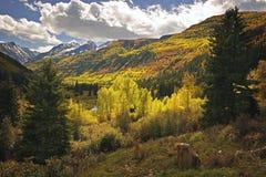 Passaggio di montagna del Colorado Fotografia Stock Libera da Diritti