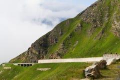 Passaggio di montagna di Grossglockner Fotografie Stock