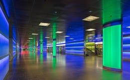 Passaggio di ShopVille della stazione ferroviaria principale di Zurigo Fotografia Stock