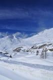 Passaggio di Simplon, alpi svizzere, Wallis. Fotografia Stock Libera da Diritti