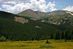 Passaggio Mountain View di Boreas Fotografia Stock