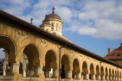 Passaggio ortodosso della cattedrale Immagini Stock