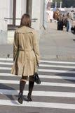 Passaggio pedonale Fotografia Stock