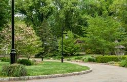 Passaggio pedonale al giardino Fotografia Stock Libera da Diritti