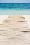 Passaggio pedonale al mare Fotografie Stock