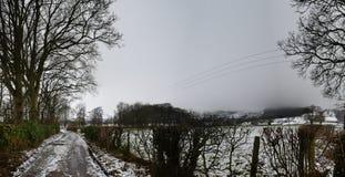 Passaggio pedonale a Castleton, parco nazionale di punta del distretto, Regno Unito Fotografia Stock Libera da Diritti
