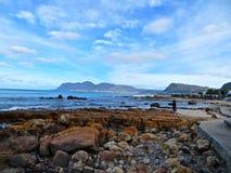 Passaggio pedonale costiero immagine stock libera da diritti