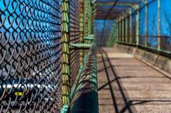 Passaggio pedonale d'acciaio del portone Immagine Stock Libera da Diritti