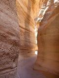 Passaggio pedonale del canyon dell'arenaria fotografia stock libera da diritti