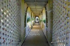 Passaggio pedonale del castello immagini stock libere da diritti