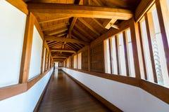 Passaggio pedonale del castello di Himeji Fotografia Stock Libera da Diritti