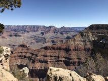 Passaggio pedonale del grande canyon fotografia stock