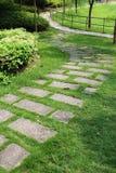 Passaggio pedonale del Greensward Immagini Stock