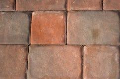 Passaggio pedonale del mattone Fotografia Stock