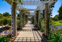 Passaggio pedonale del supporto conico del giardino fotografie stock libere da diritti