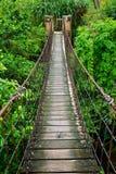 Passaggio pedonale della corda Fotografia Stock