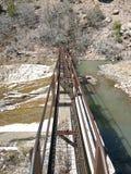 Passaggio pedonale della diga Fotografia Stock