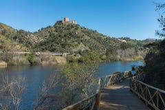 Passaggio pedonale di Alamal nel Portogallo immagini stock libere da diritti