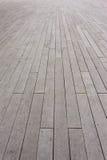 Passaggio pedonale di legno della piattaforma Immagini Stock Libere da Diritti