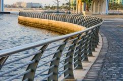 Passaggio pedonale di piegamento Fotografia Stock Libera da Diritti
