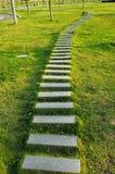 Passaggio pedonale di pietra fotografia stock