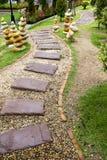 Passaggio pedonale di pietra Fotografie Stock Libere da Diritti