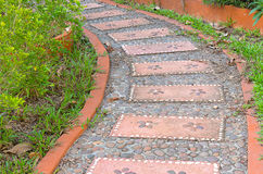 Passaggio pedonale di pietra Immagine Stock Libera da Diritti