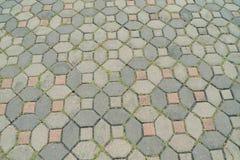 Passaggio pedonale di pietra del percorso Fotografia Stock