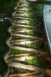 Passaggio pedonale di Zig Zag Fotografie Stock