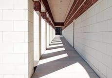 Passaggio pedonale geometrico esteriore Immagine Stock