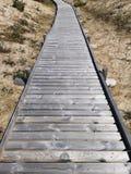 Passaggio pedonale nel lago Coldwater fotografia stock libera da diritti