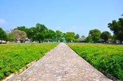 Passaggio pedonale nel parco Immagini Stock
