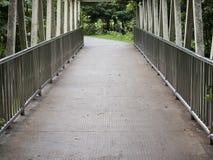 Passaggio pedonale nel ponte Immagine Stock Libera da Diritti