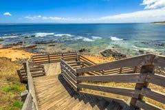 Passaggio pedonale Phillip Island Fotografia Stock Libera da Diritti