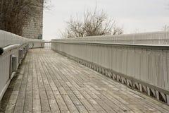 Passaggio pedonale Quebec City fotografia stock libera da diritti