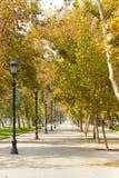 Passaggio pedonale a Santiago, Cile Immagine Stock