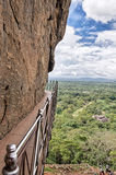 Passaggio pedonale, Sigiriya, Sri Lanka Immagini Stock Libere da Diritti