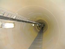 Passaggio pedonale sottomarino in mare aperto Conne Fotografia Stock