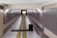 Passaggio sotterraneo fotografia stock