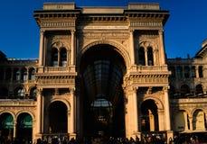 Passaggio Vittorio a Milano Fotografia Stock Libera da Diritti