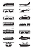 Passagier & openbaar vervoer Royalty-vrije Stock Fotografie