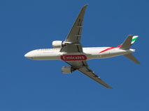 Passagier Boeing 777-21 Lizenzfreies Stockfoto
