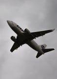 Passagier Boeing 737-524 (w) UTair royalty-vrije stock afbeelding