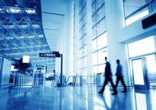 Passagier in de luchthaven van Shanghai pudong Royalty-vrije Stock Foto