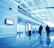 Passagier in de luchthaven van Shanghai pudong Royalty-vrije Stock Fotografie