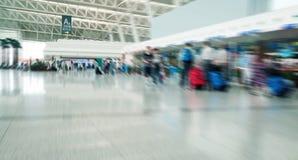 Passagier in Shanghai pudong airport Royalty-vrije Stock Afbeeldingen