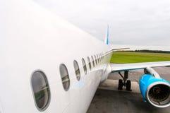 Passagierfluglinie Lizenzfreies Stockfoto